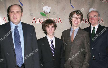 Stock Image of Glenn Fleshler, Noah Robbins, David Turner and Edward James Hyland
