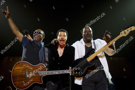 Editorial picture of Lionel Richie and The Commodores in concert supported by Guy Sebastian, Auckland, New Zealand - 18 Mar 2011