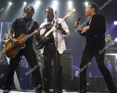 Editorial image of Lionel Richie and The Commodores in concert supported by Guy Sebastian, Auckland, New Zealand - 18 Mar 2011