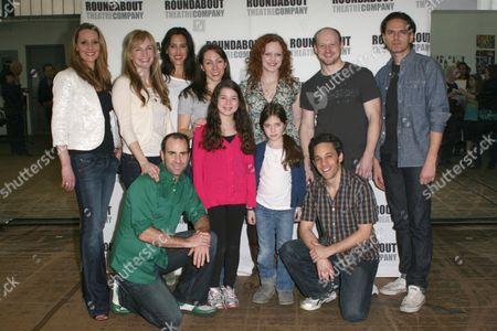 Back row: Shannon Lewis, Emilee Dupre, Jessica Lea Patty, Rachel