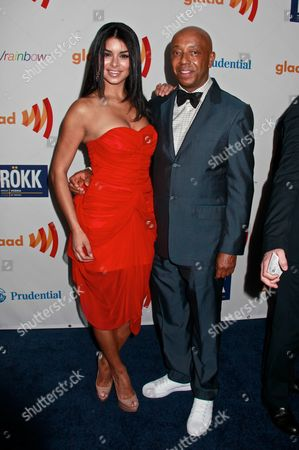 2010 Miss USA Rima Fakih and Russell Simmons