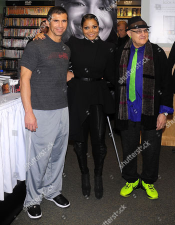 Tony Martinez, Janet Jackson and David Ritz