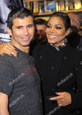 Tony Martinez and Janet Jackson