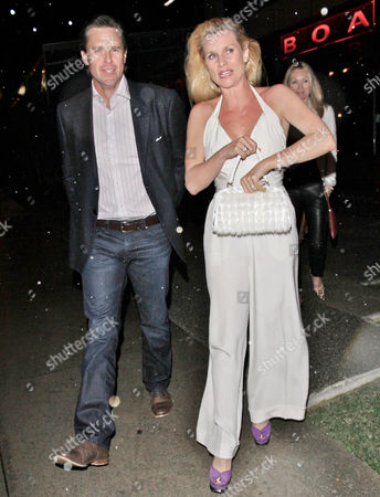 Steve Pate and Nicollette Sheridan
