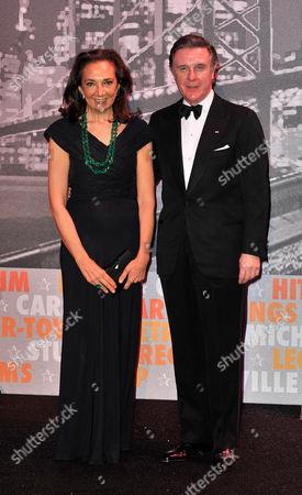 Alberto Repossi and wife
