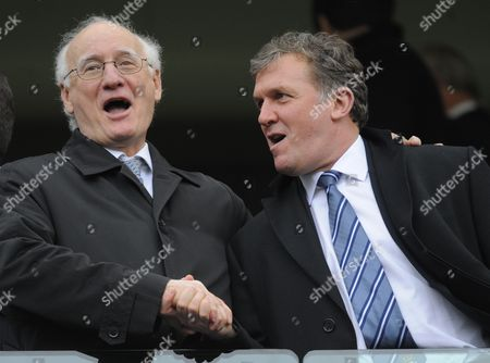 Chelsea chairman Bruce Buck and Manchester City Chief Executive Garry Cook