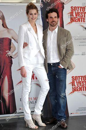 Vanessa Hessler and Francesco Montanari