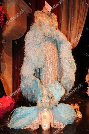 Stock Image of Auction Of The Late Danny La Rue's Costumes At The Brick Lane Music Hall.