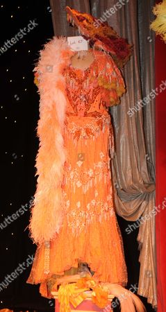 Editorial image of Auction Of The Late Danny La Rue's Costumes At The Brick Lane Music Hall. Picture Murray Sanders. Music Hall Costume.