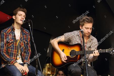 Nick Santino and Justin Richards of A Rocket to the Moon