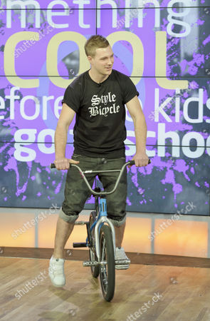 Stock Image of Keelan Phillips, BMX Bike Riding