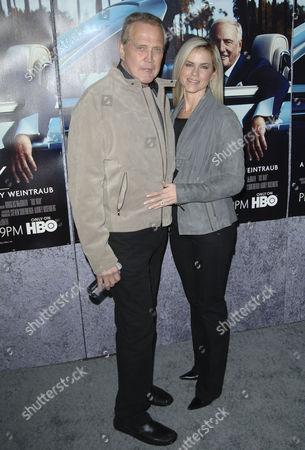 Lee Majors & wife Faith Majors