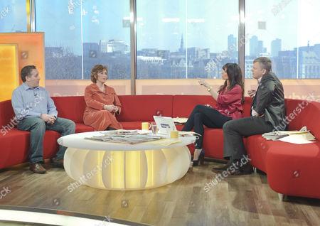 Editorial image of 'Daybreak' TV Programme, London, Britain - 23 Mar 2011