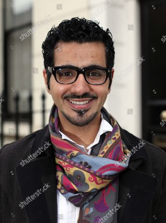 Editorial picture of Shoe designer, Sultan al Darmaki, London, Britain - 10 Feb 2011