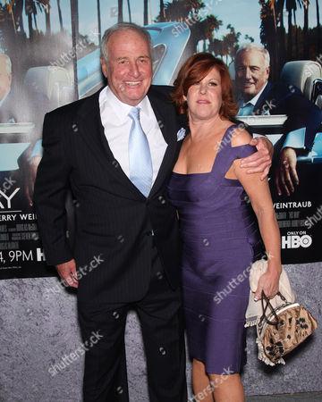 Jerry Weintraub and wife Jane