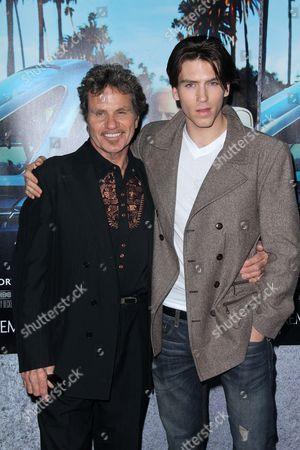 Martin Kove with son Jesse Kove