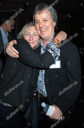 Rosie Boycott and Tony Elliott
