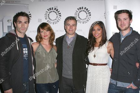Sam Witwer, Sarah Allen, Mark Stern, Meaghan Rath and Sam Huntington
