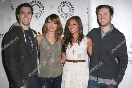 Sam Witwer, Sarah Allen, Meaghan Rath and Sam Huntington