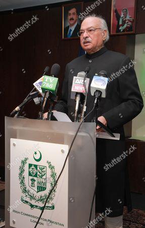 Pakistan High Commissioner, Wajid Shamsul Hasan