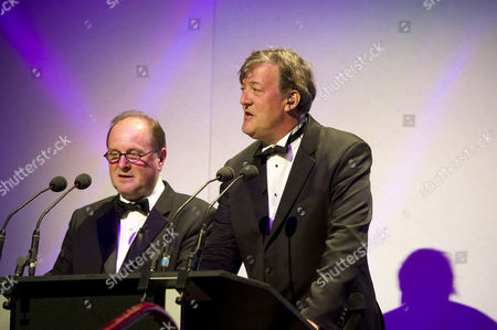 James Naughtie and Stephen Fry