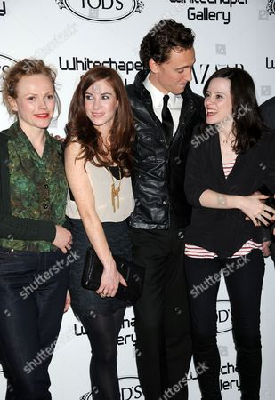 Maxine Peake, Juliet Oldfield, Tom Hiddleston and Claire Foy