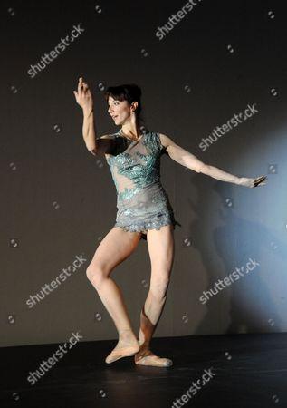 Stock Image of Marta Romagna performing 'Steel'