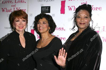 Donna McKechnie, Sonia Manzano, Fredi Walker-Browne