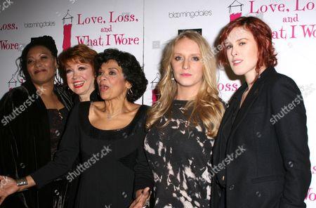 Fredi Walker-Browne, Donna McKechnie, Sonia Manzano, Annie Stark