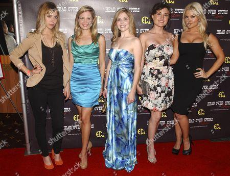 Stock Picture of Natalie Distler, April Brooks, Jen Lilley, Leena Huff & Mara Marini