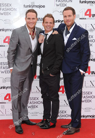 Simon and Adam Ryan with Julian Bennett (c)