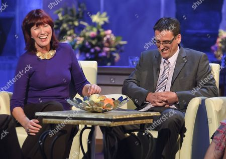 Stock Image of Janet Street-Porter and Pete Benton