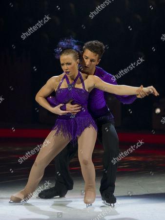 Laura Hamilton with Dancing partner Colin Ratushniak