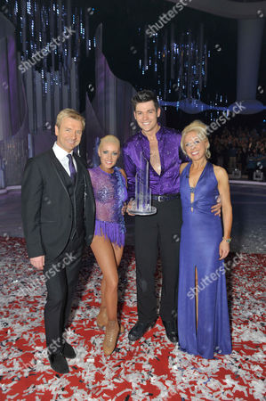 Stock Picture of Christopher Dean, Sam Attwater, Brianne Delcourt and Jayne Torvill.