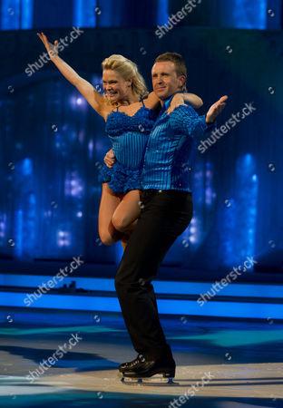 Stock Image of Dominic Cork with Dancing partner Alexandra Schauman