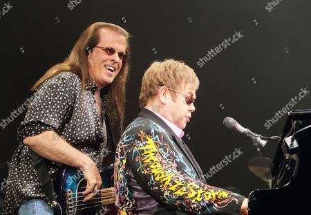 Editorial photo of Sir Elton John in concert at the 1st Mariner Arena in Baltimore, America - 26 Mar 2011