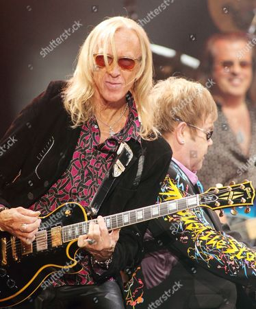 Stock Image of Sir Elton John and Davey Johnston