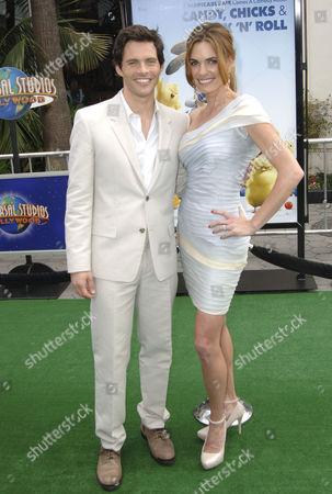 James Marsden & wife Lisa Linde