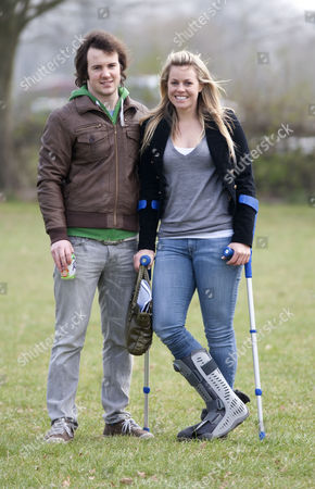 Dougie Crawford and Chemmy Alcott