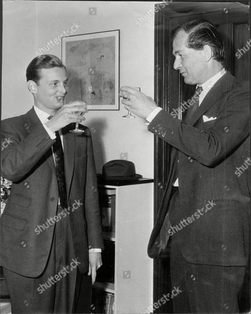 Maurice Macmillan Son Of Prime Minister With Peter Grant The Winner Of Daily Mail Competition