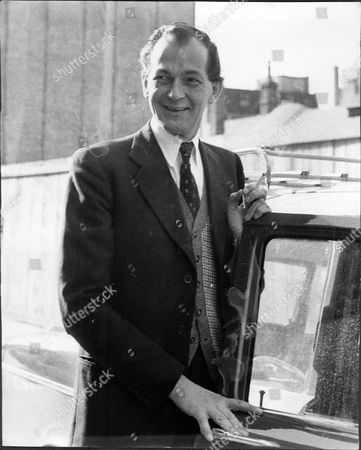 Maurice Macmillan Son Of Prime Minister Arriving At Kings Edward Vii Hospital For Officers To See His Father Who Is Expected To Undergo An Operation For Prostatic Obstruction