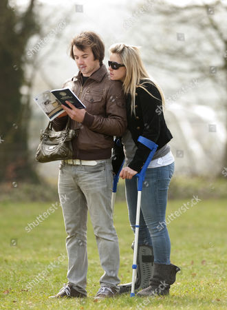 Stock Photo of Dougie Crawford and Chemmy Alcott