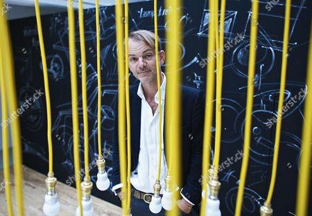 Adrian Van Hooydonk, BMW director of design, London, Britain
