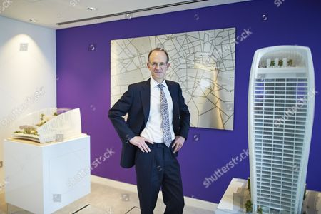 Stock Photo of Francis Salway, CEO of Land Securities, London, Britain
