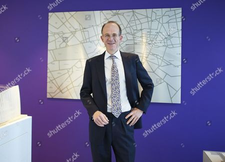 Stock Picture of Francis Salway, CEO of Land Securities, London, Britain