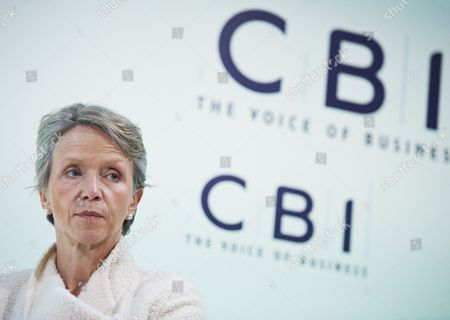 Helen Alexander, president of the Confederation of British Industry's (CBI), at the annual conference, London, Britain