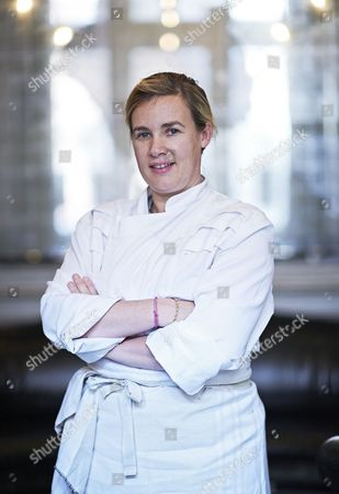 Helene Darroze, chef at the Connaught, London, Britain