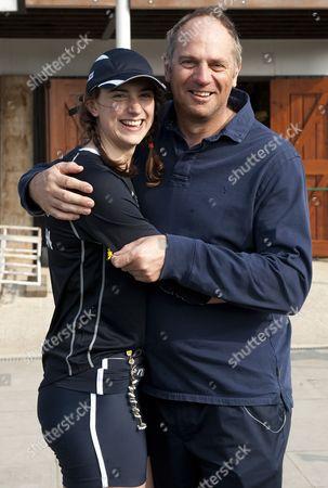 Natalie Redgrave and Sir Steve Redgrave