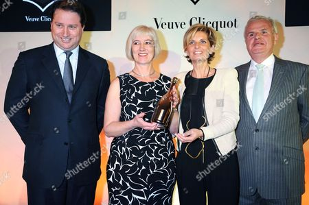 Jo Thornton, Michelle McDowell (winner), Sabina Belli and Lord Myners