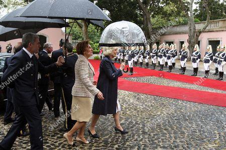 Maria Alves da Silva and Camilla Duchess of Cornwall